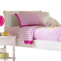 Hillsdale Lauren Sleigh Full Bed with Rails