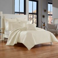 J. Queen New York™ Glacier King Coverlet in Ivory
