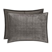 J. Queen New York™ Glacier Standard Pillow Sham in Graphite