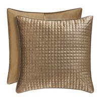 J. Queen New York™ Glacier European Pillow Sham in Gold