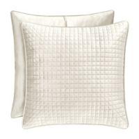 J. Queen New York™ Glacier European Pillow Sham in Ivory