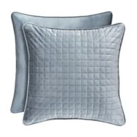 J. Queen New York™ Glacier Square Throw Pillow in Blue