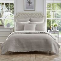 Piper & Wright Hadley Full/Queen Coverlet in Silver