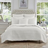 Piper & Wright Hadley Full/Queen Coverlet in White