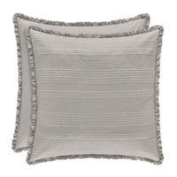 Piper & Wright Hadley European Pillow Sham in Silver