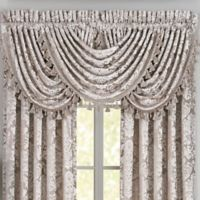 J. Queen New York Bel Air Waterfall Window Valance in Sand