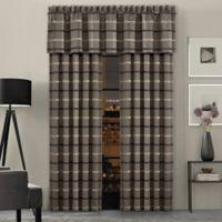 J.Queen New York™ Sutton 84-Inch Rod Pocket Window Curtain Panel Pair in Graphite