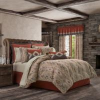 J. Queen New York™ Brave Queen Comforter Set in Rust