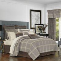 J. Queen New York™ Jaspen Queen Comforter Set in Grey