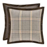 J. Queen New York™ Jaspen European Pillow Sham in Grey
