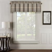 J. Queen New York™ Jaspen Rod Pocket Window Valance in Grey