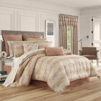 J. Queen New York™ Sunrise King Comforter Set in Coral