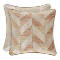 J. Queen New York™ Sunrise 18-Inch Square Throw Pillow in Coral