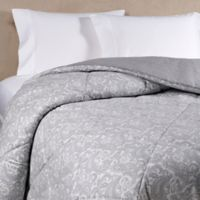 The Seasons Collection® HomeGrown™ Flannel Paisley Twin Comforter in Grey