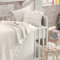 Nipperland® Rose Garden 6-Piece Crib Bedding Set in Cream