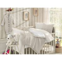Nipperland® 6-Piece Boutique Crib Bedding Set in Cream