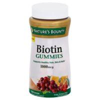 Natures Bounty 110-Count 1000 mcg Biotin Gummies