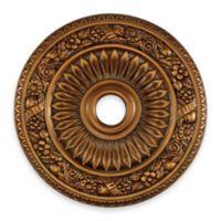 ELK Lighting 24-Inch Floral Wreath Medallion in Antique Bronze