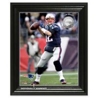 NFL Tom Brady Elite Series Minted Coin Photo Mint
