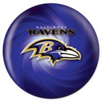NFL Baltimore Ravens 10 lb. Swirl Bowling Ball