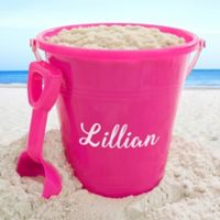 Personalized Easter Sand Pail & Shovel
