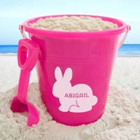 Easter Characters Personalized Plastic Beach Pail & Shovel