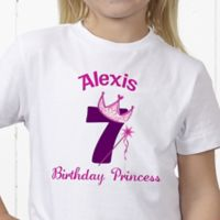 Birthday Princess Personalized Hanes® Youth T-Shirt