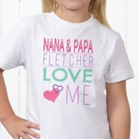 Look Who Loves Me Personalized Hanes® Youth T-Shirt