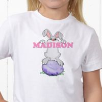 Bunny Love Personalized Hanes® Youth T-Shirt