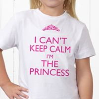 Keep Calm Personalized Hanes® Youth T-Shirt