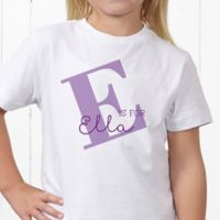 Alphabet Fun Personalized Hanes® Youth T-Shirt
