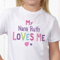 You Are Loved Personalized Hanes® Youth T-Shirt
