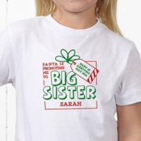 Promoted By Santa Personalized Hanes® Youth T-Shirt