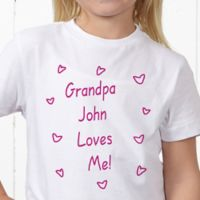 Somebody Loves Me Personalized Hanes® Youth T-Shirt