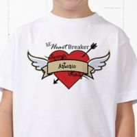 Heartbreaker Personalized Hanes® Youth T-Shirt