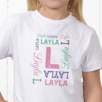 Repeating Name Personalized Hanes® Youth T-Shirt