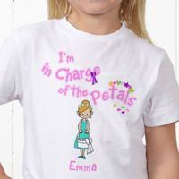 Our Flower Girl Personalized Hanes® Youth T-Shirt