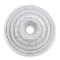 ELK Lighting English Study 24-Inch Ceiling Medallion in White