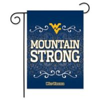 West Virginia University Garden Flag