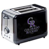 MLB Colorado Rockies 2-Slice Toaster
