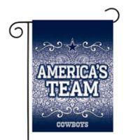 NFL Dallas Cowboys Garden Flag