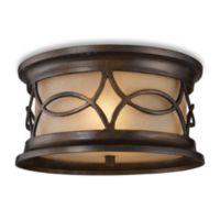 ELK Lighting Burlington Junction 2-Light Outdoor Flush Mount Fixture