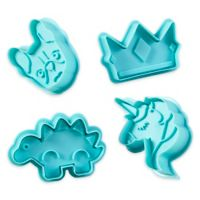 Wilton® 4-Piece Stamp Cookie Cutter Set in Blue