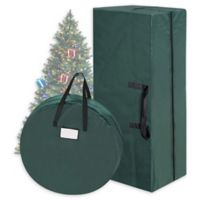 "Tiny Tim Totes 30"" Christmas Tree & Wreath Bags in Green"