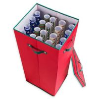"Elf Stor 30"" Wrapping Paper Storage Box in Red"