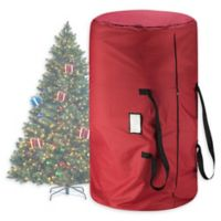 9-Foot Artificial Christmas Tree Storage Tote in Red