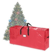 Elf Stor 9-Foot Artificial Christmas Tree Storage Bag in Red