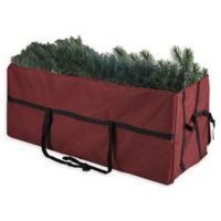 Elf Stor 9-Foot Deluxe Heavy Duty Artificial Christmas Tree Storage Bag in Red