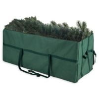 Elf Stor 9-Foot Deluxe Heavy Duty Artificial Christmas Tree Storage Bag in Green