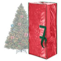 Elf Stor 7.5-Foot Artificial Christmas Tree Storage Bag in Red